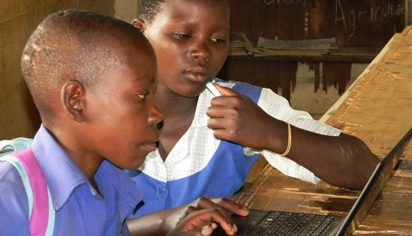 Tax firm RSM-UK and Wye Valley donate 50 laptops for Zambian school