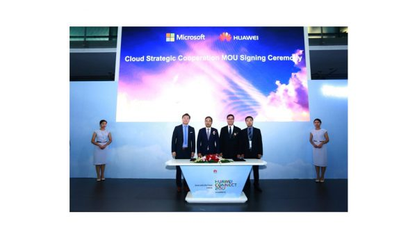 Huawei cloud and Microsoft apps embark on new strategic cooperation