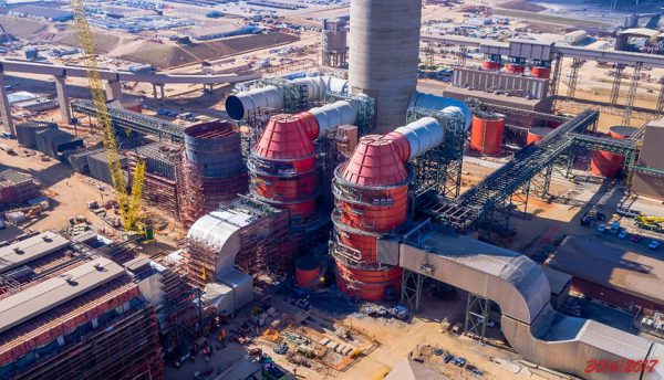 GE's efficient power generation and air-quality control technology deployed at Kusile Unit One