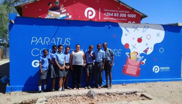Paratus Namibia connects Kwakwas Primary School with Internet access