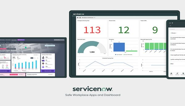 ServiceNow releases apps to help employees return safely to the workplace.
