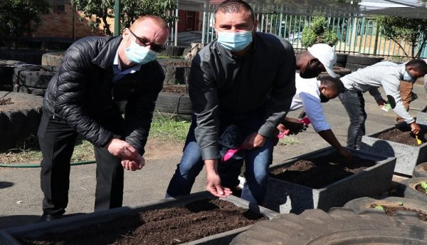 Kyocera's cartridge recycling project grows resources for community vegetable garden