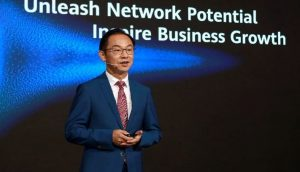 Huawei's Ryan Ding: Unleash network potential, inspire business growth
