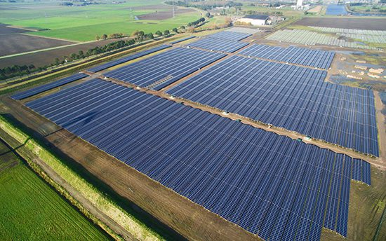 Electricity from Dutch solar park to power local Google data centre
