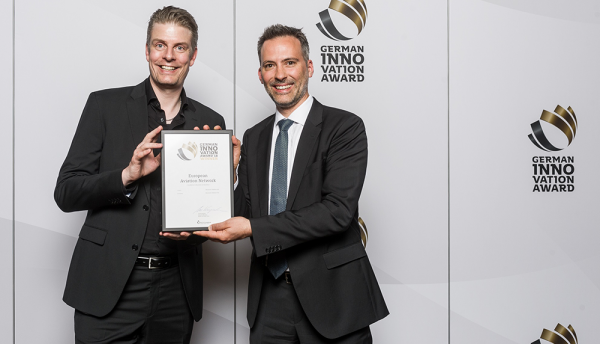 Aviation network inflight broadband wins German Innovation Award
