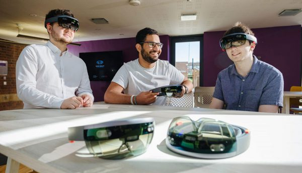 University of Hull and VISR launch first Microsoft HoloLens summer school