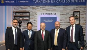Turkey's first live 5G trial performed by Turkcell and Samsung