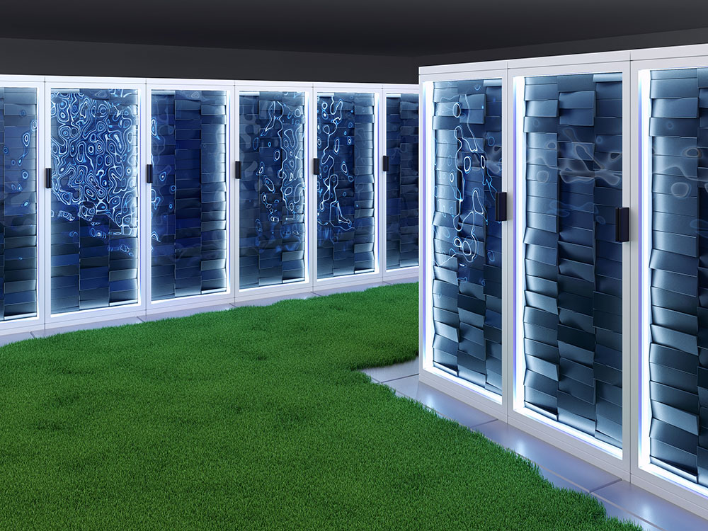 How can organisations adapt their data centre operations to become more eco-friendly?