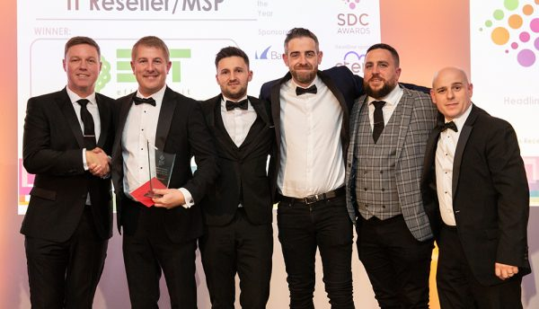 EfficiencyIT wins 'IT Systems Reseller of The Year' at SDC Awards 2019