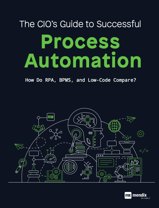 eGuide: The CIO's Guide to Successful Process Automation