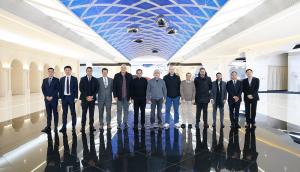 Qatari delegation visits Huawei's headquarters in Beijing