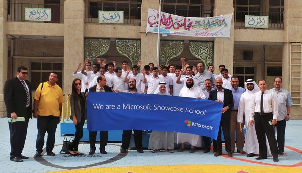 Kuwait's Ibn ElAmeed Secondary School receives Microsoft Showcase School recognition