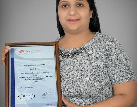 CNet Training confirms first woman to attain CNIDP certification