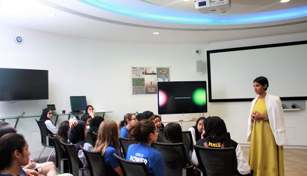 Cisco encourages female students to pursue careers in technology through its Girls Power Tech Program
