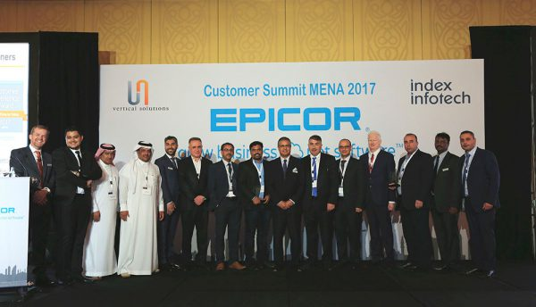 Epicor announces the 2017 Customer Excellence Award winners for the Middle East