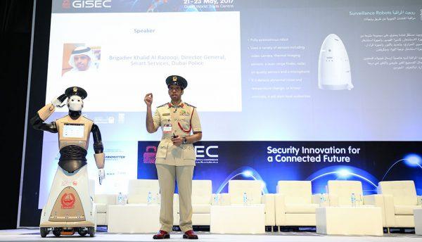 'Robocop' patrolling the streets of Dubai
