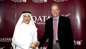 Qatar Airways to offer next generation Inmarsat GX Aviation in-flight broadband