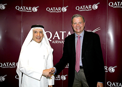 Qatar Airways to offer next generation Inmarsat GX Aviation in-flight broadband service