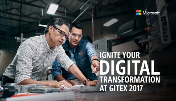 Microsoft to 'ignite' digital transformation with its intelligent Cloud at GITEX