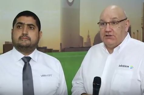Gitex 2017 – VMware and Infoblox discuss demand drivers