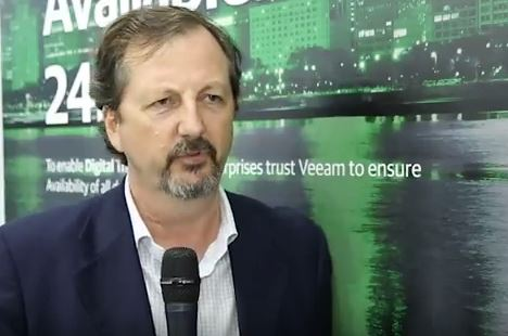 Gitex 2017 – Veeam insight on market demand drivers
