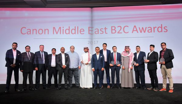 Canon honours KSA channel and introduces it to cloud services