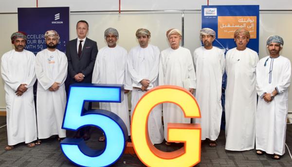 Omantel and Ericsson showcase 5G experience