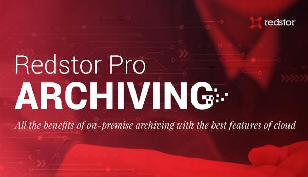 Redstor unveils unique archiving service