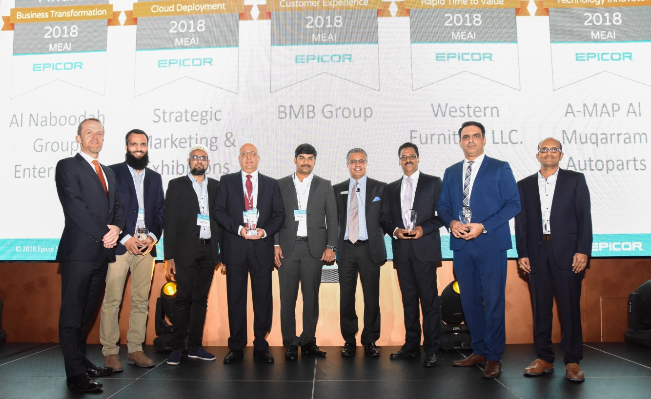 Epicor announces the 2018 Customer Excellence Award winners