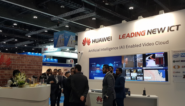 Huawei showcases solutions at the International Exhibition of National Security and Resilience