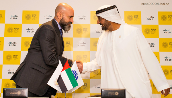 Cisco working to 'connect minds around the world' at Expo 2020 Dubai