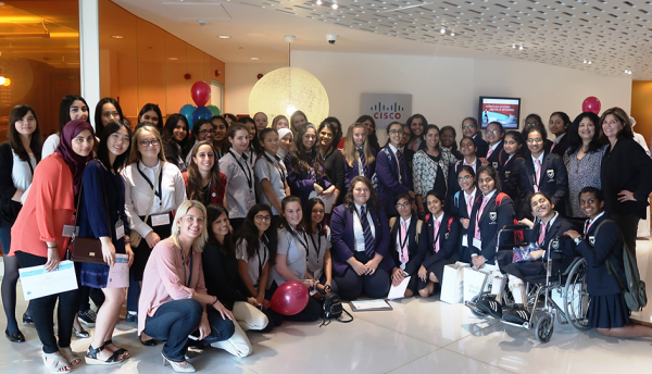 Cisco inspires the next generation of women at Girls Power Tech Event in Dubai