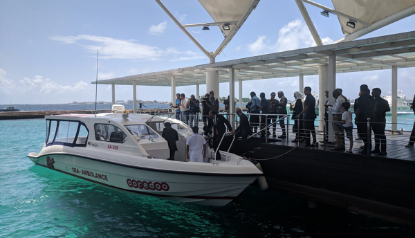 Qatar based Ooredoo donates sea ambulances to Maldives