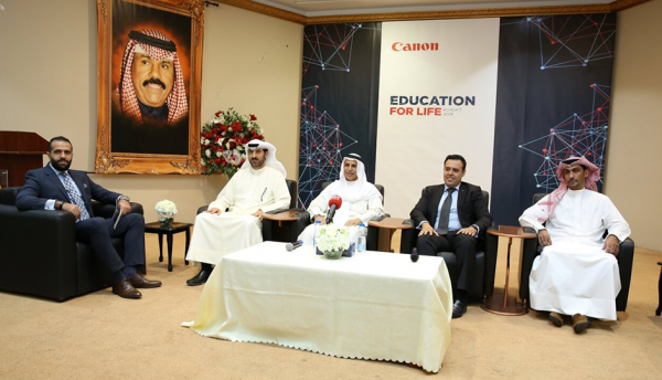 Canon works to highlight the importance of technology-enabled education in Kuwait