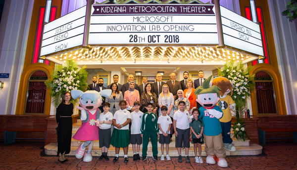 Microsoft Kuwait partners with KidZania to develop IT skills
