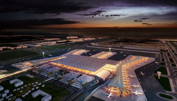 R&M implements network cabling for Istanbul New Airport