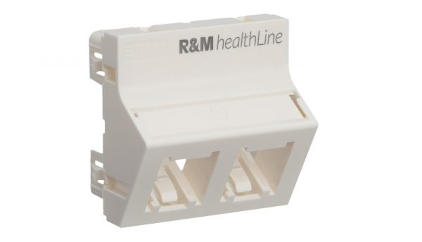 R&M expands Antimicrobial Cabling Solution range for healthcare