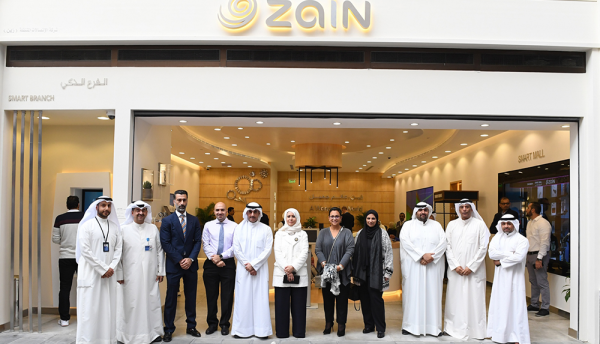 Zain adopts smart technology at launch of new branch in Kuwait