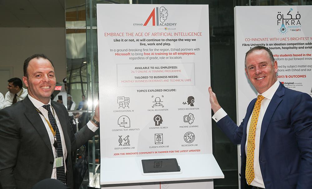 Etihad Airways launches region's first AI academy