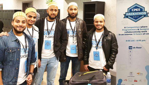 Creativity Kuwait development team participates in CPES Hackathon