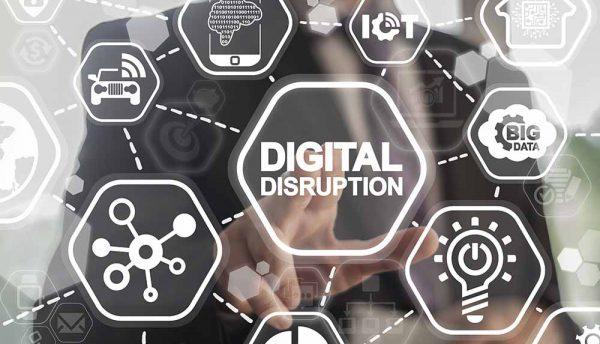 Digital disruption defines change across industries and organisations