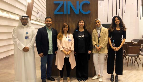 Zain Kuwait hosts NASA at its technological innovation centre