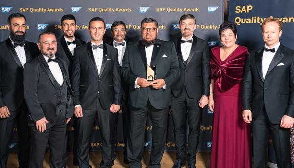 Saudi automotive distributor and Britehouse win SAP award