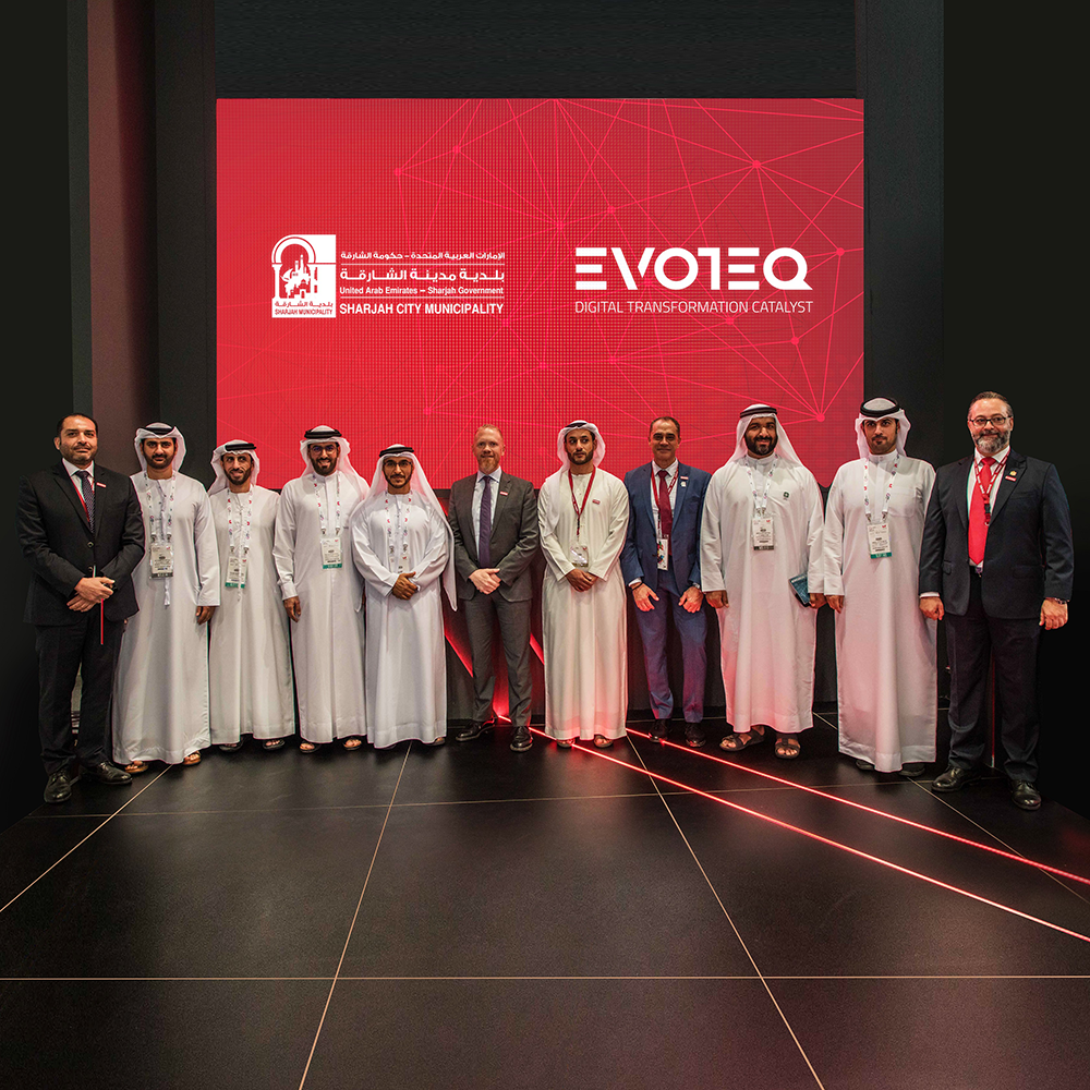 Sharjah City Municipality and EVOTEQ introduce new smart parking solution