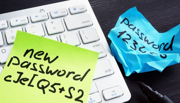 What best practice approach should businesses take to password security?