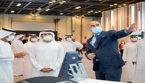 Sheikh Hamdan, Crown Prince of Dubai, greeted through Avaya Spaces at GITEX 2020