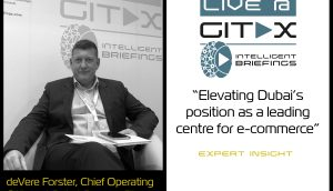 Live @ GITEX: deVere Forster, Chief Operating Officer at Dubai CommerCity