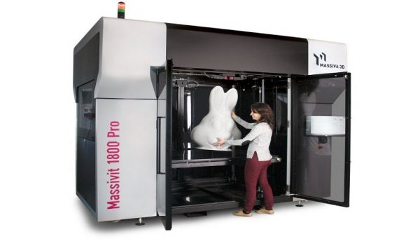 Out of the Box first to install MASSIVIT 3D Printer in UAE
