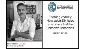 Deep Dive: Rami El Malak, CEO and co-founder of spiderSilk